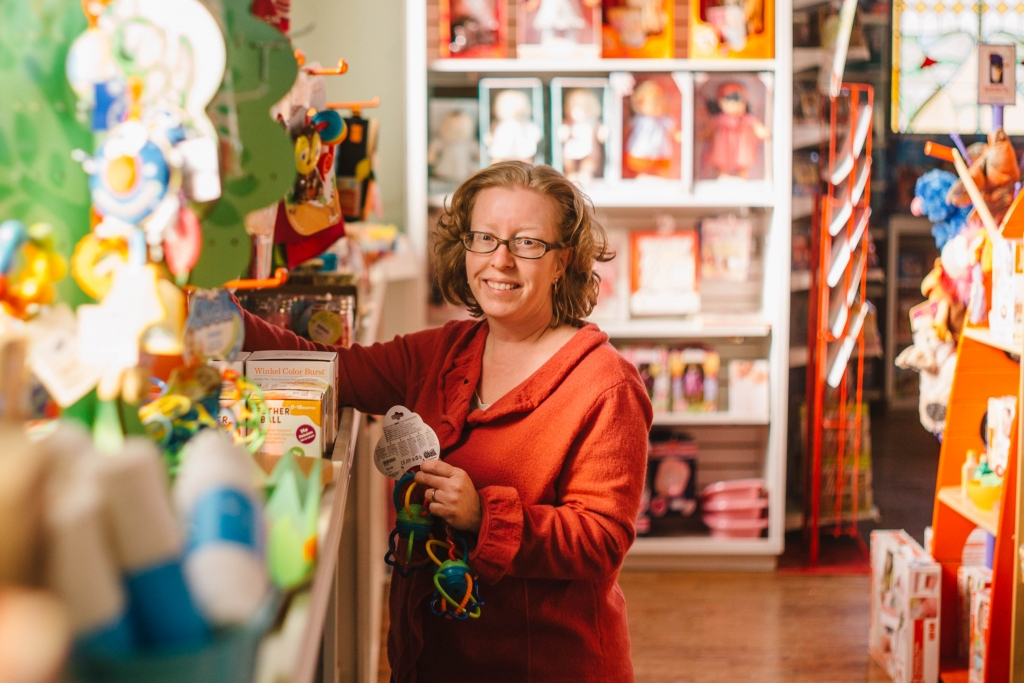Lisa Boulianne, owner of Toy Soup